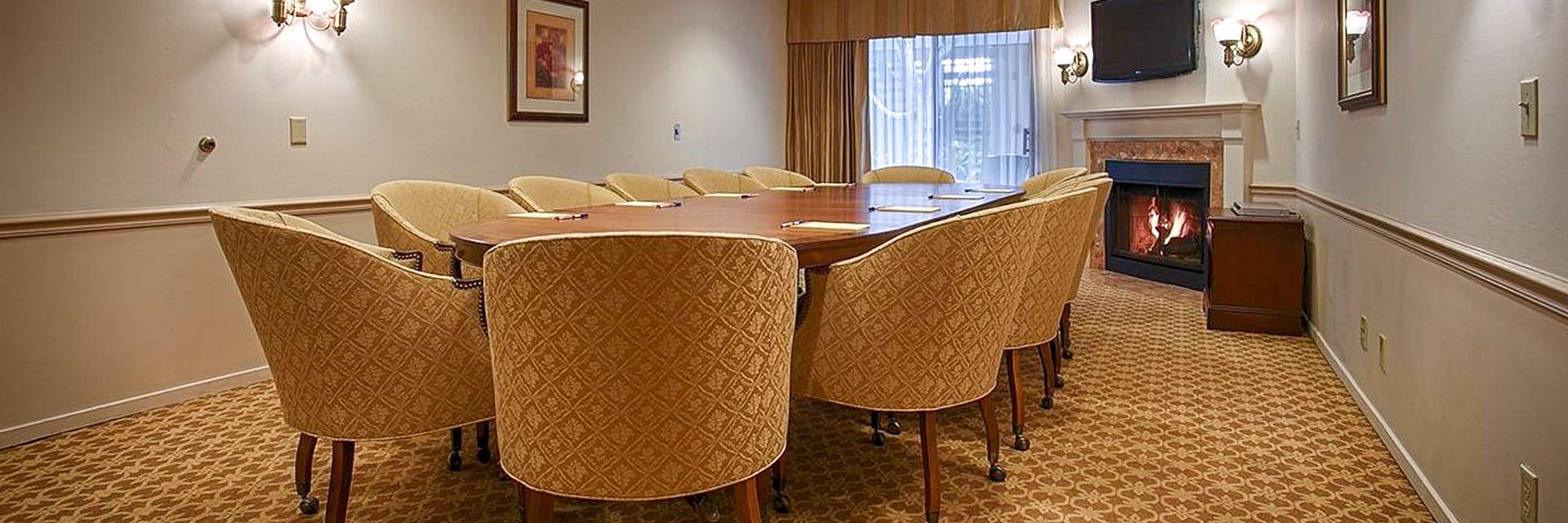 Meeting Room at Hotel Victorian Inn Monterey