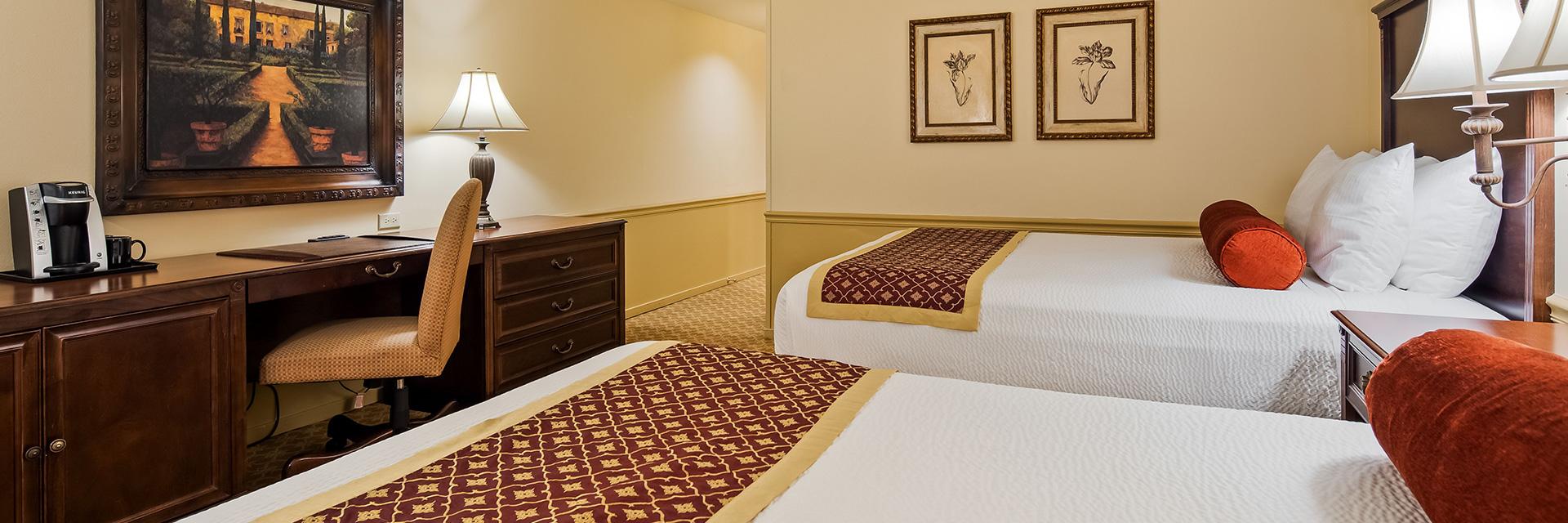 Rooms at Hotel Victorian Inn Monterey